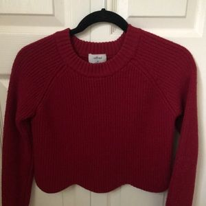 Wilfred Cropped sweater